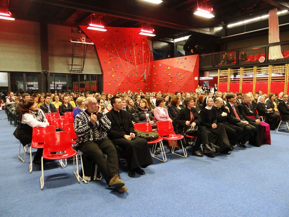 Svečano otvaranje Vjeronaučne olimpijade 2015.