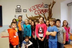 Posjet krčke pjesnikinje Vere Miš krčkim osnovnim školama